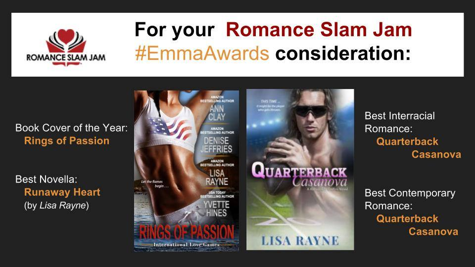 Time For Romance Slam Jam Emma Awards Nominations